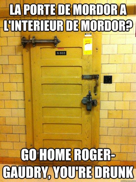 Les portes de Roger-Gaudry, prise 2